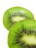 Kiwi Halves — Stock Photo