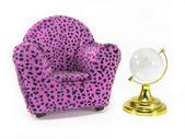Armchair Miniature — Stock Photo