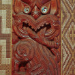 Stock Photo: MAORI CARVINGS