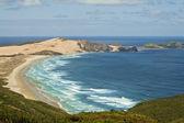 BEACH NEAR CAPE REINGA, NEW ZEALAND — Stock Photo