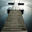 Stock Photo: Landing stage