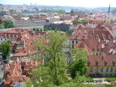 Czechia. Prague. Hradcany. Panorama — Stockfoto