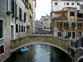 Italy. Venice. The Venetian bridges — Stock Photo