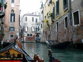 Italy. Venice. Venetian roads — Stock Photo