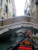 Venice. Bridges on the Venetian channels — Stock Photo