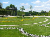 Great Parterre of Schonbrunn Palace — Stock Photo