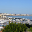 Cannes panorama, waterfront — Stock Photo