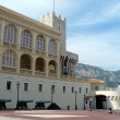 Stock Photo: Courtyard in front of Prince`s Palace of Monaco