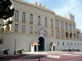 Prince`s Palace of Monaco — Stock Photo