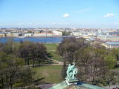 S.Petersburg from Saint Isaac`s Cathedral — Stock Photo
