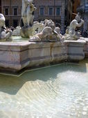ナヴォーナ広場の fontana ネットゥーノ — ストック写真