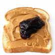 Royalty-Free Stock Photo: Peanut butter and jelly