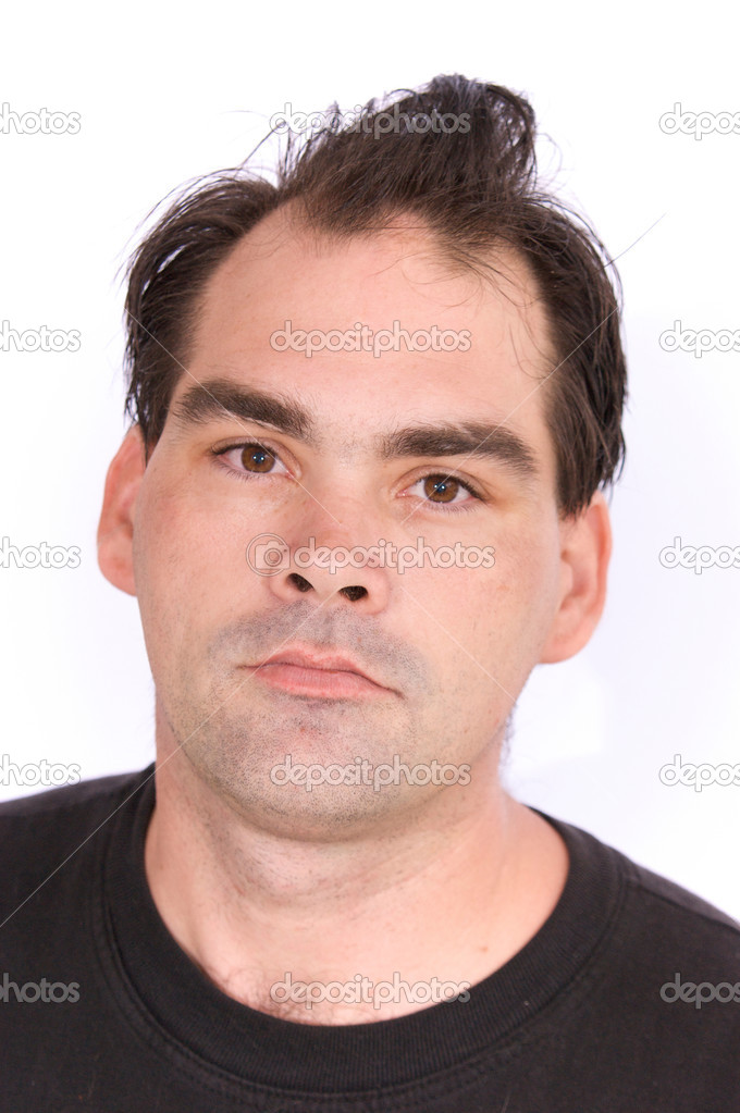 Man With Bad Haircut Stock Photo 169 Sorsillo 3097367