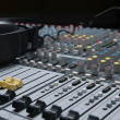 Professional sound mixer closeup — Stock Photo #2988842