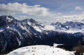 Italian Alps for skiing — Stock Photo
