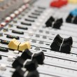 Professional sound mixer closeup — Stock Photo #3127484