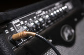 Professional sound equipment closeup — Stock Photo