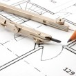 Architecture plans — Stock Photo #2987460