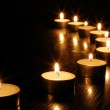 romantisk candle light — Stockfoto #2988137