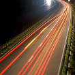 Road with car traffic — Stock Photo
