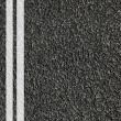Road texture with lines — Stock Photo #3007195
