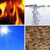 Elementos básicos de la naturaleza — Foto de Stock