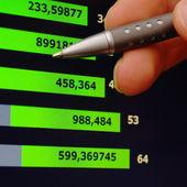 Analizzando la crescita finanziaria — Foto Stock