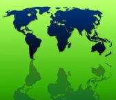 World map — Zdjęcie stockowe