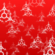 Red xmas background - Foto de Stock