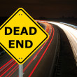 Dead end - Stock Photo
