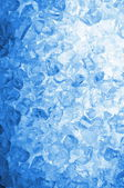 Abstract blie ice background — Stock Photo
