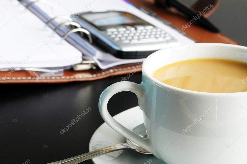Coffee At Work ~ Coffee at work — stock photo gunnar