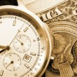 Money and watch — Stock Photo #3023893