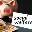 Social welfare — Foto Stock