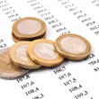 Money on business numbers — Stock Photo #3029431
