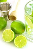 Caipirinha cocktail — Stock Photo