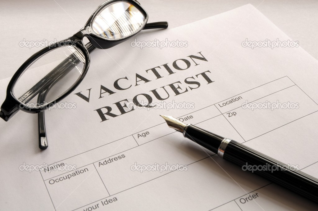 Vacation request — Stock Photo © gunnar3000 #3028739