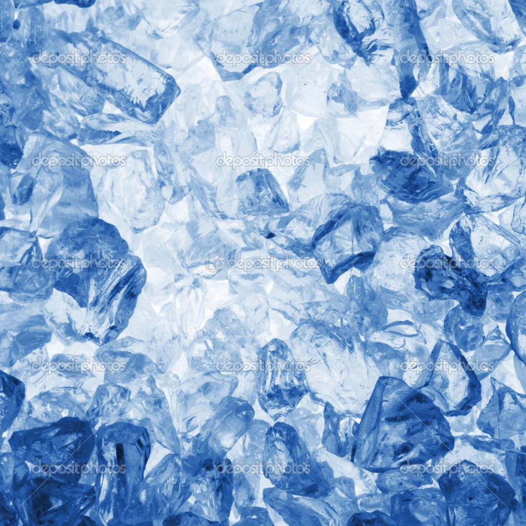 Cool summer or winter ice cube background with copyspace                                     — Stock Photo #3028889