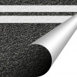 Stock Photo: Asphalt texture with copyspace