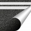 Asphalt texture with copyspace - Stock Photo