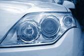 Headlight of a car — Stock Photo