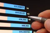 Analysing business success — Stock Photo