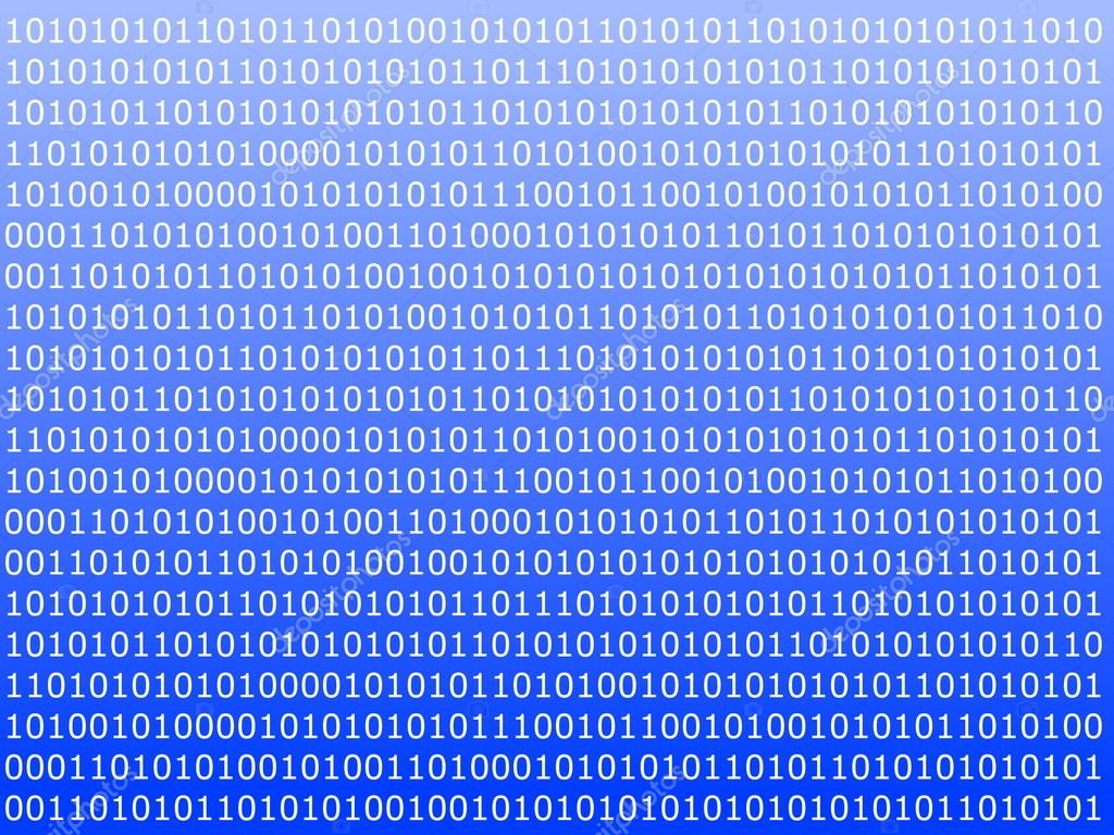 Binary computer data background with 1 and 0 — Stock Photo #3063584