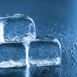 Cool ice cubes - Stock Photo
