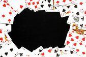 Quadro de jogo de cartão — Fotografia Stock