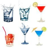 Cocktail collection — Foto Stock