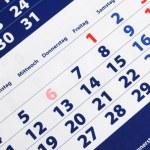 Calendar — Stock Photo #3292287
