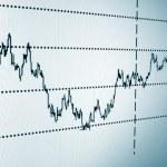 Stock chart — Stock Photo #3292587