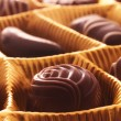 Stock Photo: Chocolate praline