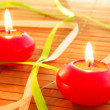 Holiday candle — Foto de Stock